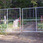シカ柵ゲート