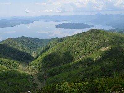 藻琴山登山道